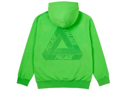 Palace Polartec Lazer Hood Fluro Green  (FW20)の写真