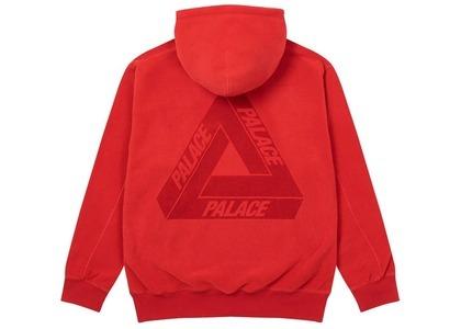 Palace Polartec Lazer Hood Red  (FW20)の写真