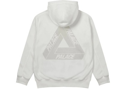 Palace Polartec Lazer Hood White  (FW20)の写真