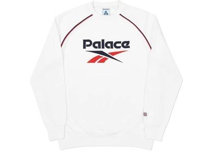 Palace Reebok PBok Crew White  (FW20)の写真