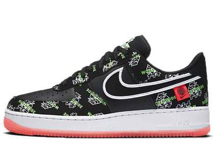 Nike Air Force 1 Worldwide Pack Katakana Blackの写真