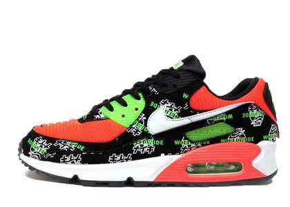 Nike Air Max 90 Worldwide Pack Katakana Black Womensの写真