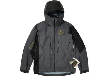Palace Arc'Teryx Alpha SV Jacket Grey  (FW20)の写真