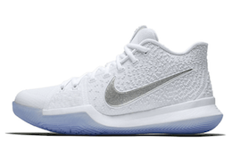 Kyrie 3 White Chromeの写真