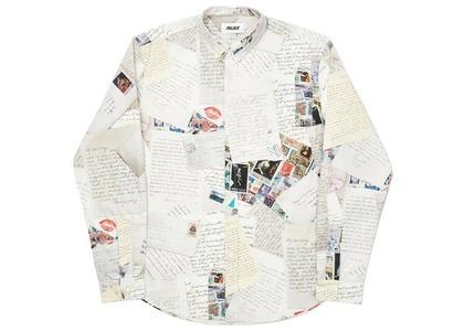 Palace Love Letter Shirt White  (FW20)の写真