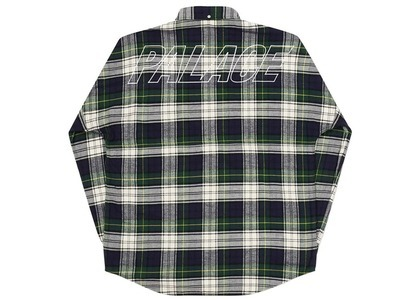 Palace Lumber Yak Shirt Green  (FW20)の写真