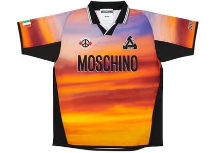 Palace Moschino Football Shirt Orange Cloud  (FW20)の写真