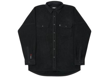 Palace Polartec Lazer Shirt Black  (FW20)の写真