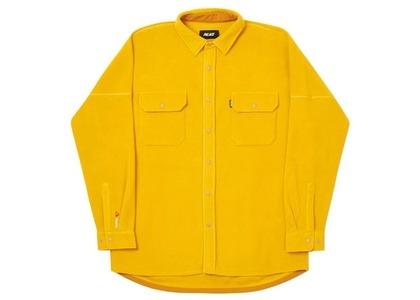 Palace Polartec Lazer Shirt Gold  (FW20)の写真