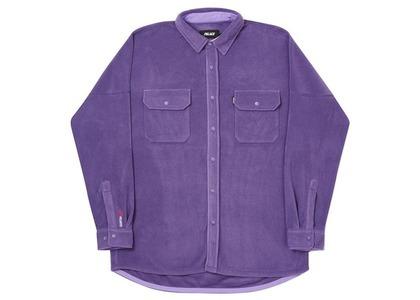 Palace Polartec Lazer Shirt Indigo  (FW20)の写真