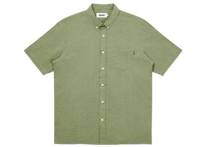 Palace Short Sleeve Sucker Shirt Olive  (FW20)の写真