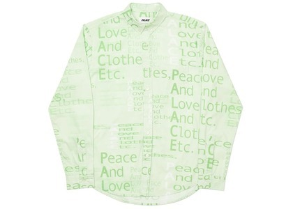 Palace This Is What Palace Stands For Shirt Green  (FW20)の写真
