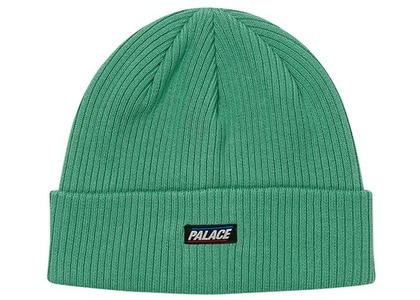 Palace Basically A Beanie Washed Green  (FW20)の写真