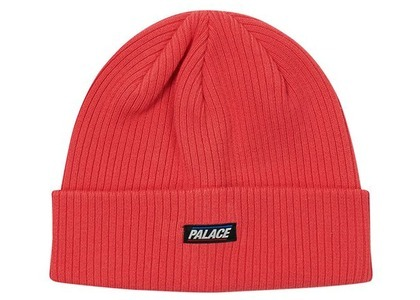 Palace Basically A Beanie Washed Red  (FW20)の写真