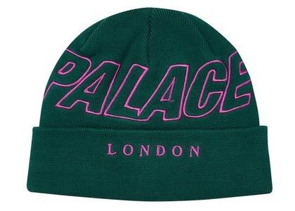 Palace London Beanie Green  (FW20)の写真