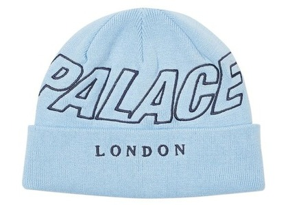 Palace London Beanie Light Blue  (FW20)の写真