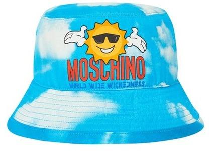 Palace Moschino Bucket Hat Blue Cloud  (FW20)の写真