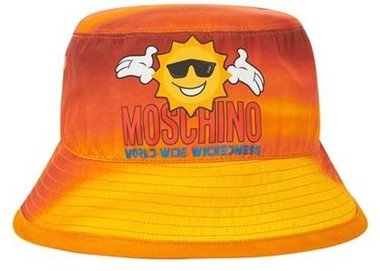 Palace Moschino Bucket Hat Orange Cloud  (FW20)の写真