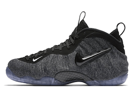 Air Foamposite Pro Wool Fleeceの写真