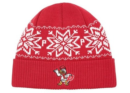 Palace PDuck Beanie Red  (FW20)の写真