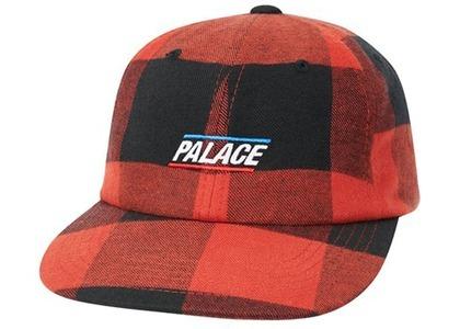 Palace Plaid Pal Hat Red  (FW20)の写真