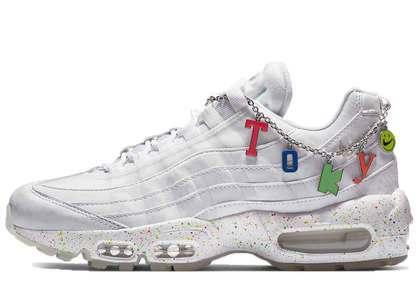 Nike Air Max 95 White Tokyo Charm Chainの写真