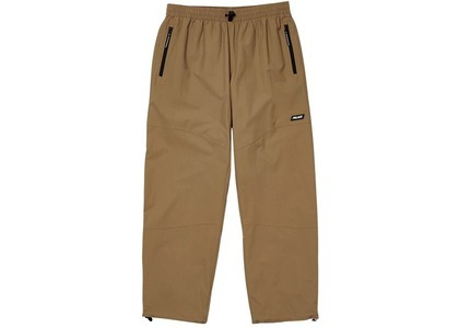Palace TypoWave Shell Joggers Tan  (FW20)の写真