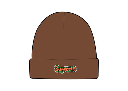 Supreme Gonz Logo Beanie Brown (SS21)の写真