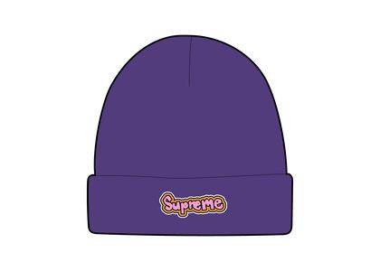 Supreme Gonz Logo Beanie Purple (SS21)の写真