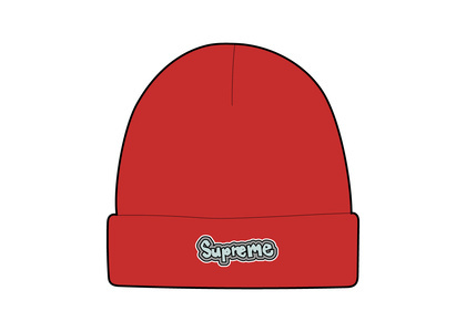 Supreme Gonz Logo Beanie Red (SS21)の写真