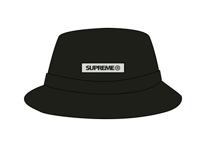 Supreme Reflective Patch Boonie Black (SS21)の写真