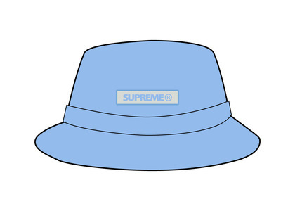 Supreme Reflective Patch Boonie Light Blue (SS21)の写真