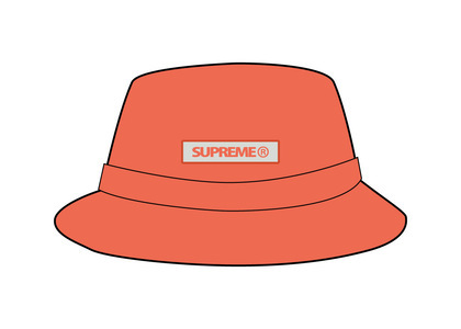 Supreme Reflective Patch Boonie Orange (SS21)の写真