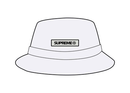 Supreme Reflective Patch Boonie White (SS21)の写真