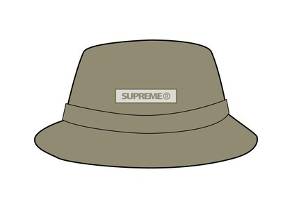 Supreme Reflective Patch Boonie Khaki (SS21)の写真