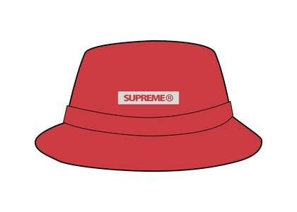 Supreme Reflective Patch Boonie Red (SS21)の写真