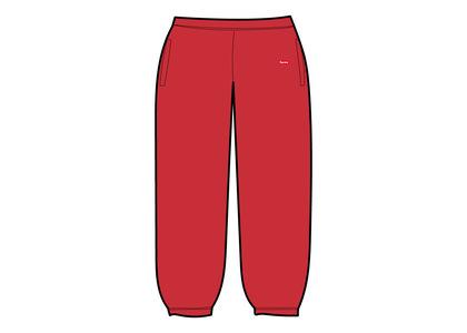 Supreme Small Box Sweatpant Red (SS21)の写真