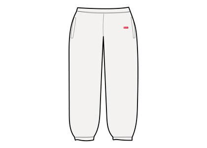 Supreme Small Box Sweatpant White (SS21)の写真