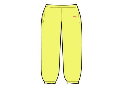 Supreme Small Box Sweatpant Yellow (SS21)の写真