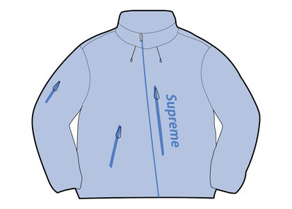 Supreme GORE-TEX Paclite Shell Jacket Light Blue (SS21)