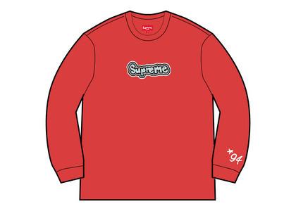 Supreme Gonz Logo Crewneck Red (SS21)の写真