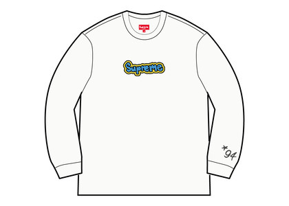Supreme Gonz Logo Crewneck White (SS21)の写真