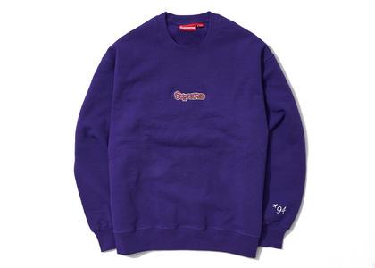 Supreme Gonz Logo Crewneck Purple (SS21)の写真