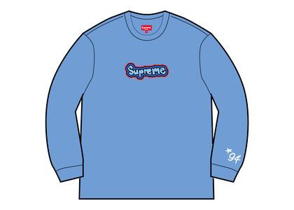 Supreme Gonz Logo Crewneck Light Blue (SS21)の写真