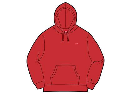 Supreme Small Box Hooded Sweatshirt Red (SS21)の写真