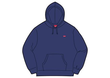 Supreme Small Box Hooded Sweatshirt Navy (SS21)の写真