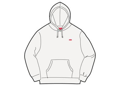 Supreme Small Box Hooded Sweatshirt White (SS21)の写真