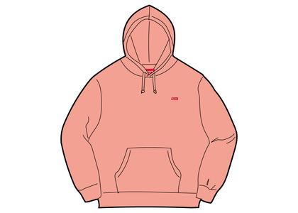 Supreme Small Box Hooded Sweatshirt Pink (SS21)の写真