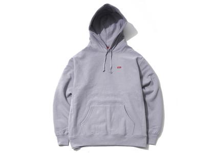 Supreme Small Box Hooded Sweatshirt Grey (SS21)の写真