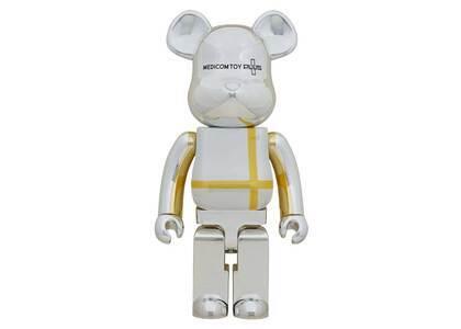 Be@rbrick Medicom Toy Plus Silver Chrome Ver. 1000%の写真